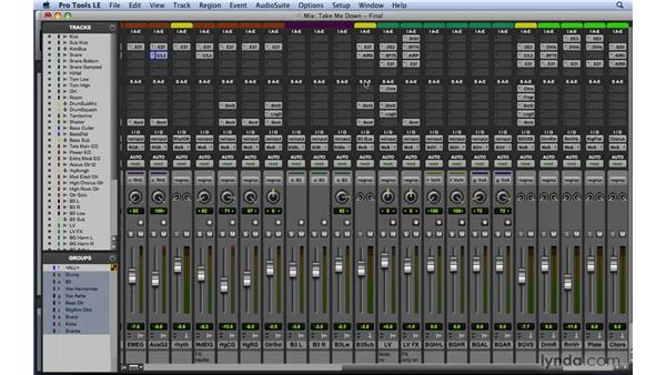 Understanding the characteristics of a great mix: Mixing and Mastering with Pro Tools