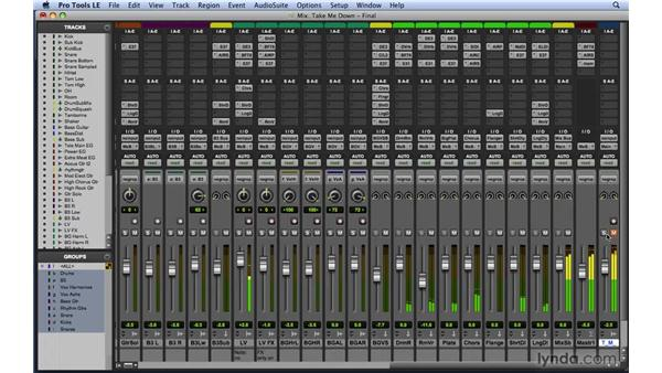 Working to reference tracks: Mixing and Mastering with Pro Tools