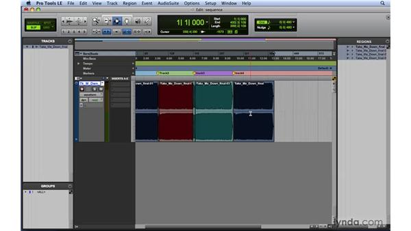 Using Pro Tools for CD track sequencing: Mixing and Mastering with Pro Tools