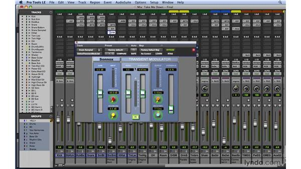 Reviewing additional plug-ins: Mixing and Mastering with Pro Tools