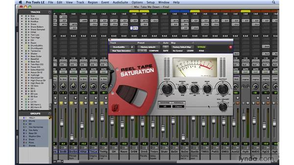 Effectively using saturation/analog style effects: Mixing and Mastering with Pro Tools