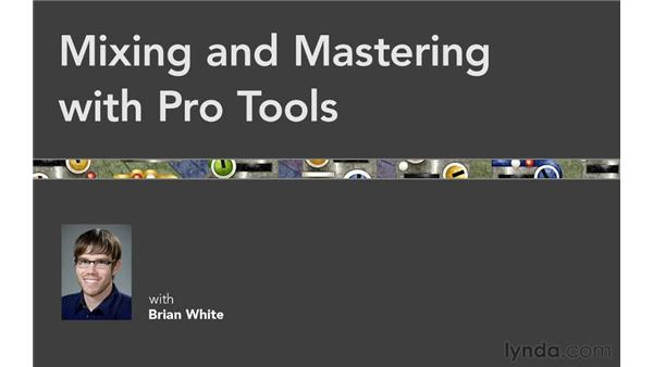 Goodbye: Mixing and Mastering with Pro Tools