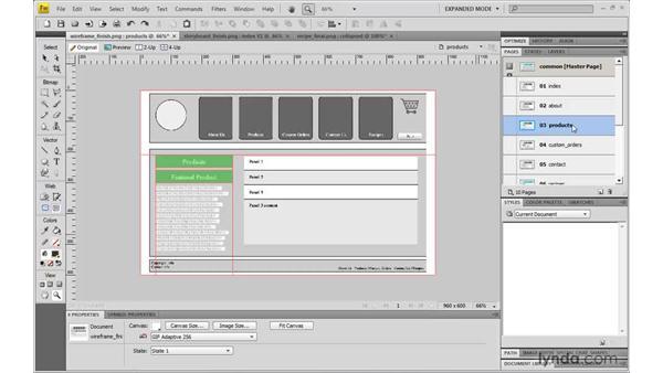 Understanding rapid prototyping: Fireworks CS4: Rapid Prototyping