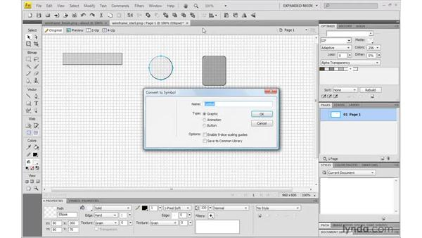 Planning a wireframe: Fireworks CS4: Rapid Prototyping