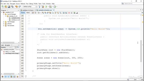 Lambda syntax: Lambda Expressions in Java