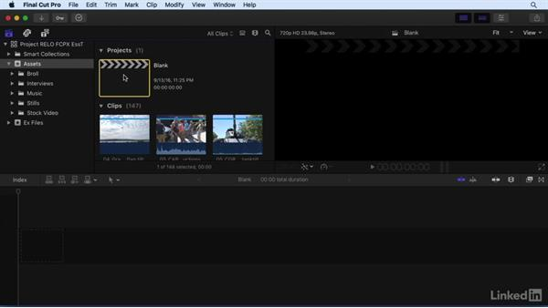 Using the exercise files: Final Cut Pro X 10.3 Essential Training