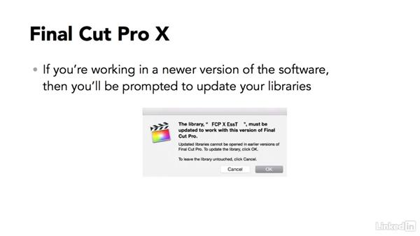 What version of FCP X does this course cover?: Final Cut Pro X 10.3 Essential Training