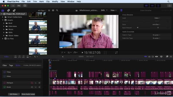 What's new in Final Cut Pro X v10.3?: Final Cut Pro X 10.3 Essential Training
