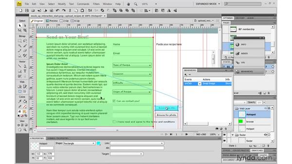 Mocking up a pop-up window: Fireworks CS4: Rapid Prototyping