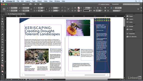 Saving or exporting your document: InDesign CC 2017 Essential Training