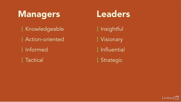 The shift from manager to leader: Transition from Manager to Leader