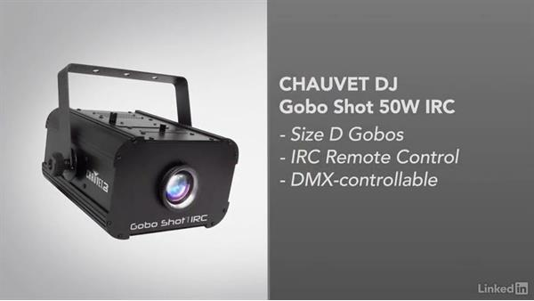 Using a DJ projector to create gobos: Video Gear: Lighting