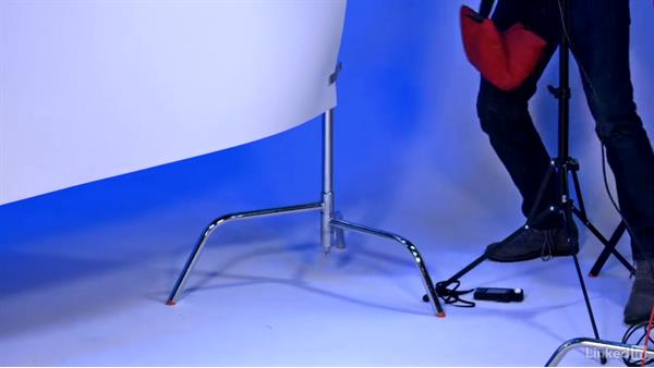 Using a portable backdrop: Video Gear: Lighting