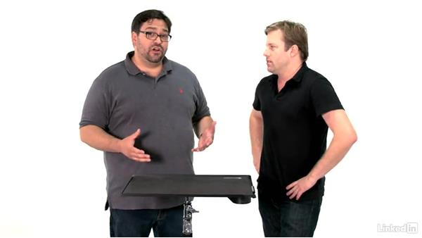 Using a portable backdrop system: Video Gear: Lighting