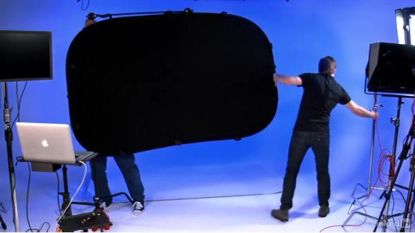 Shooting a black studio: Video Gear: Lighting