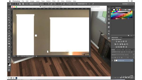 Retouching textures in Photoshop: SketchUp: Modeling from Photos
