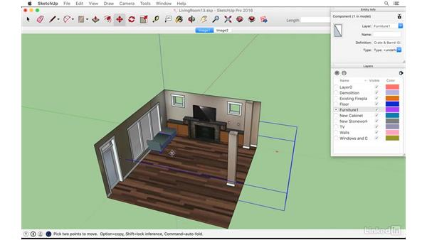 Space planning with 3D Warehouse models: SketchUp: Modeling from Photos