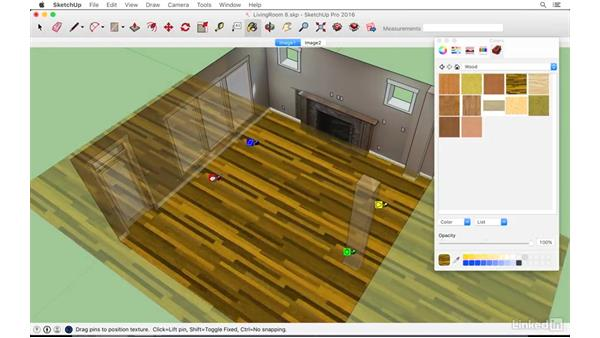 Overview of what you have learned: SketchUp: Modeling from Photos