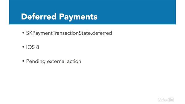 Handle deferred transactions: Implementing In-App Purchases in iOS 10 with Swift 3