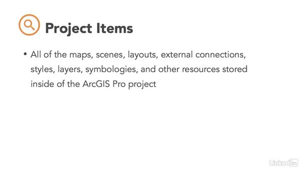 What is a project file?: ArcGIS Pro Essential Training