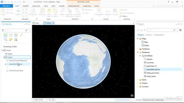 Global 3D scenes: ArcGIS Pro Essential Training