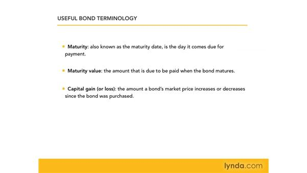 Introducing bonds and bond terminology: Excel 2007: Financial Analysis