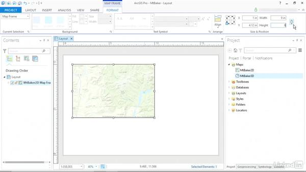 Solution: Create a map layout: ArcGIS Pro Essential Training