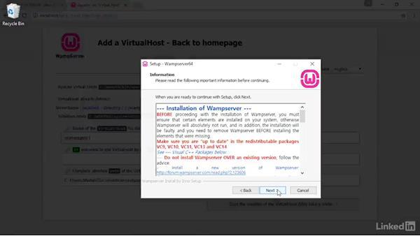 Welcome: Installing and Running WordPress: WAMP