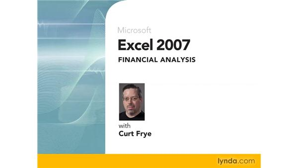 Goodbye: Excel 2007: Financial Analysis