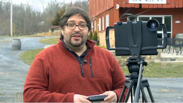 Attaching a light: Video Gear: Cameras & Lenses