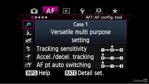 Auto focus, playback, settings, exposure control, and customizable menu options: Video Gear: Cameras & Lenses
