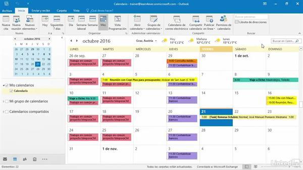 Calendario Outlook.Buscar En El Calendario De Outlook Con Instant Search