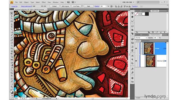 Converting color to black-and-white: Illustrator CS4 One-on-One: Mastery