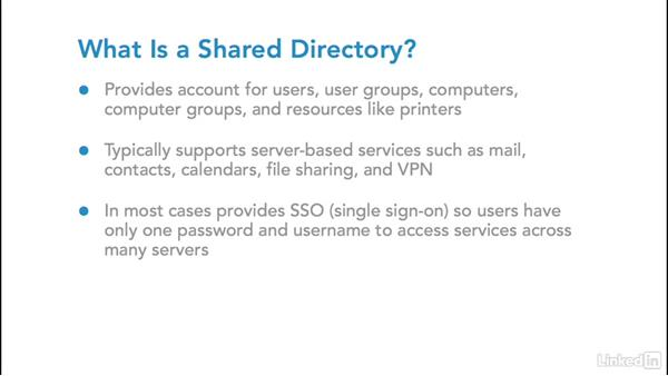 Directory services integration: Foundations of Mobile Device Management