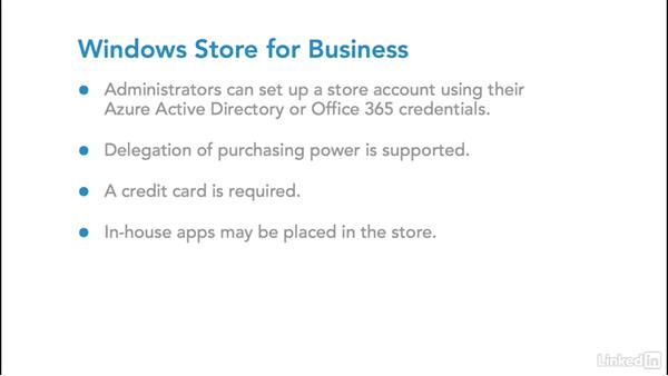Apps on Windows mobile: Foundations of Mobile Device Management