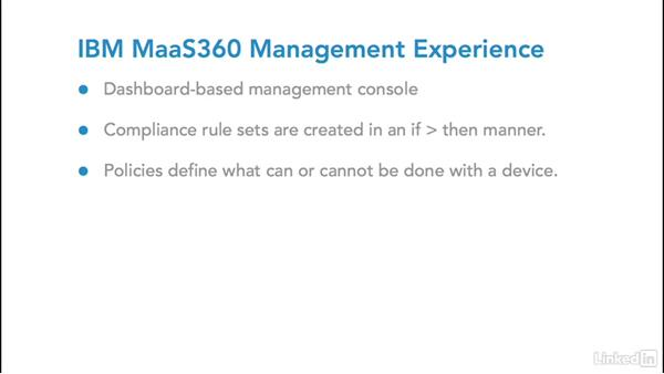 IBM MaaS360: Foundations of Mobile Device Management