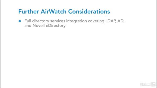 VMware AirWatch: Foundations of Mobile Device Management