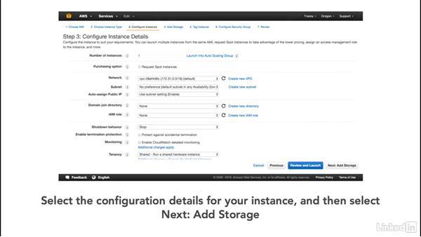 Allocating storage instances: Cloud Computing: Cloud Storage