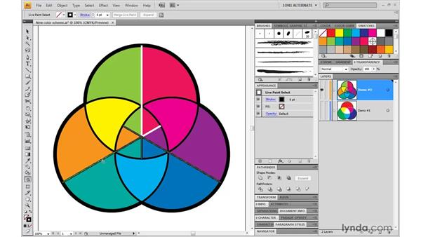 The occasional advantage of conventional editing: Illustrator CS4 One-on-One: Mastery