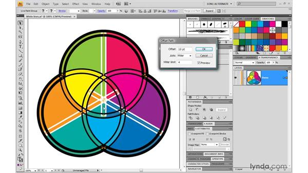 Fun with dynamic effects: Illustrator CS4 One-on-One: Mastery