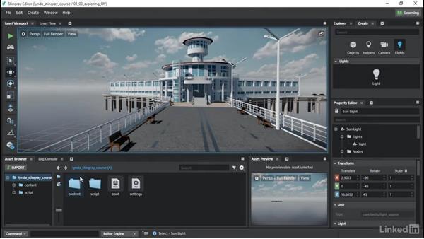 Exploring the Stingray UI: Learn Autodesk Stingray
