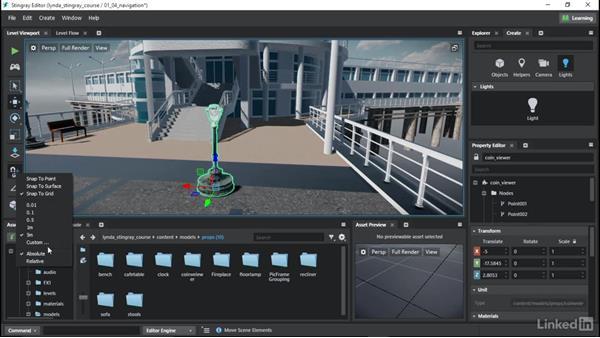 Navigating the Stingray world: Learn Autodesk Stingray