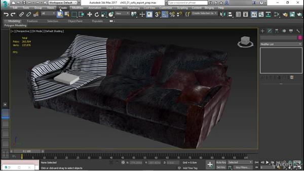 Exporting and importing 3D assets: Learn Autodesk Stingray