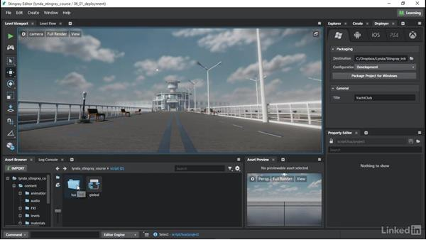 Deploying your projects: Learn Autodesk Stingray