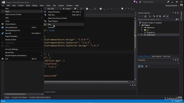 Connecting to the database: Accessing Existing Databases with Entity Framework Core