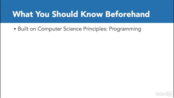 What you should know: Computer Science Principles Lab: Java