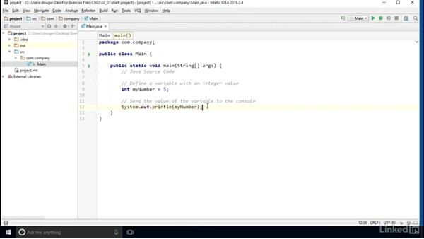Work with values and variables: Computer Science Principles Lab: Java