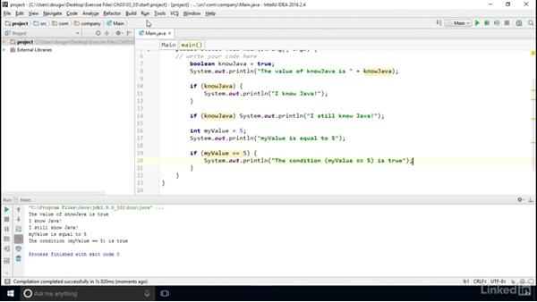 Create conditional tests: Computer Science Principles Lab: Java