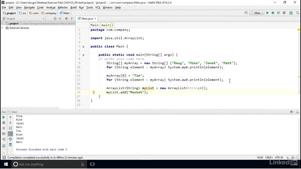 Flexible collections with ArrayLists: Computer Science Principles Lab: Java