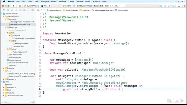 Server side with local storage walkthrough: Core Data for iOS and macOS Enterprise Developers